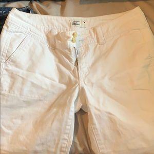 White capris ! Minimal wear